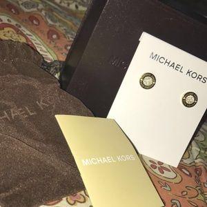 Michael Kors Gold Earrings